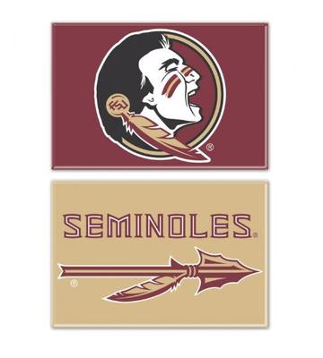 Florida State 2 pk Rectangle Fridge Magnets