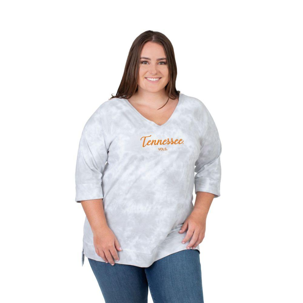 Tennessee Plus Size Women's Tie Dye Tee