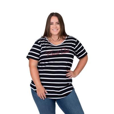 Florida State PLUS SIZE Women's Stripe Tee