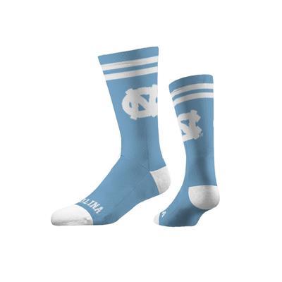 UNC Strideline NC Logo Crew Socks