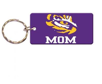 LSU Mom Key Chain