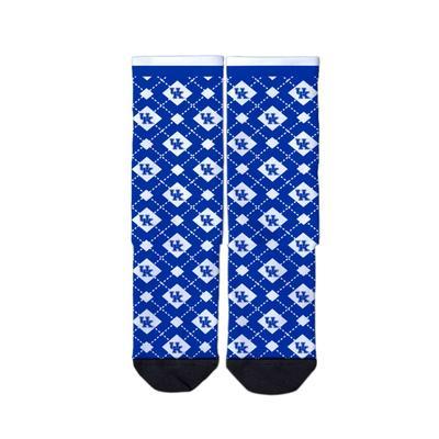 Kentucky Strideline Full Sublimated Crew Socks