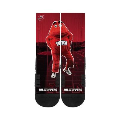 Western Kentucky Strideline Big Red Sublimated Crew Socks