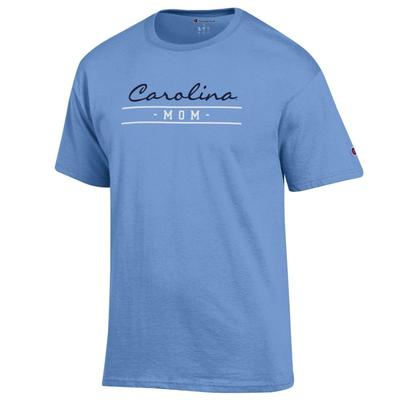UNC Champion Mom Short Sleeve Tee