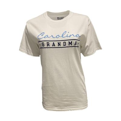 UNC Champion Grandma Short Sleeve Tee WHITE