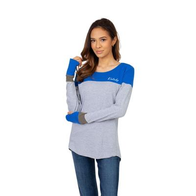 Kentucky University Girls Women's Color Block Long Sleeve Top