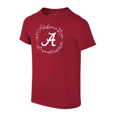 Alabama YOUTH Script A with Circle Script Tee Shirt