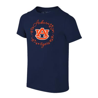 Auburn YOUTH Logo with Script Circle Tee Shirt