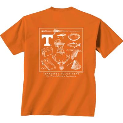 Tennessee Sportsman Montage Comfort Colors Tee