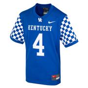 Kentucky Nike Kids # 4 Replica Football Jersey