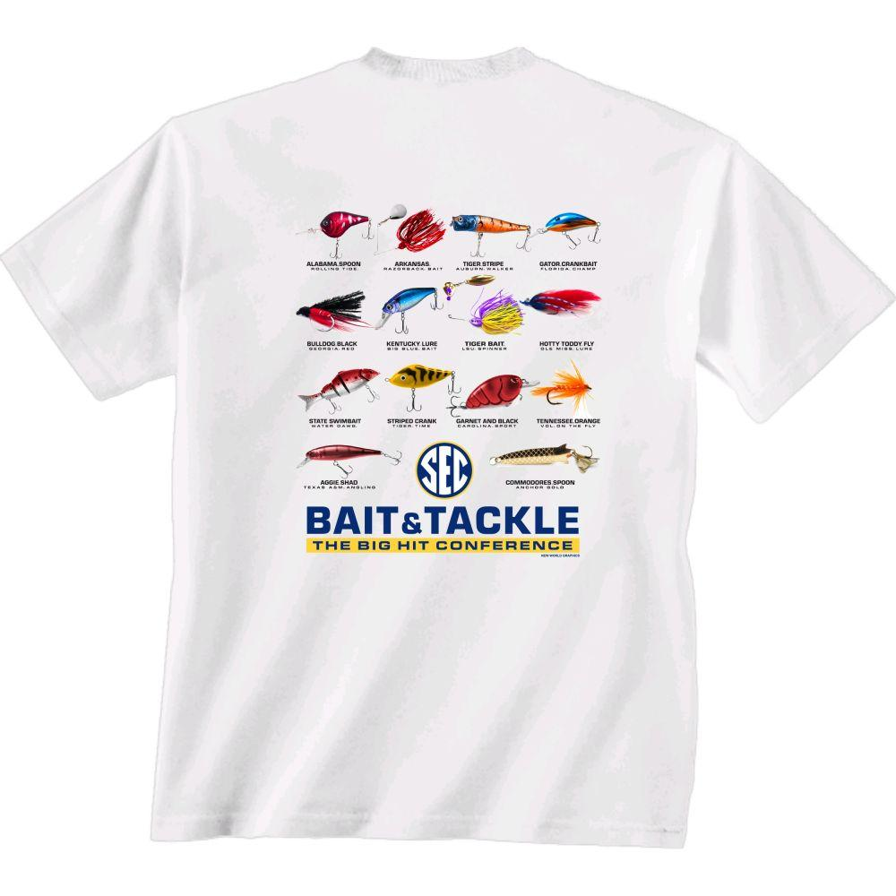 Sec Bait And Tackle Comfort Colors Short Sleeve Tee