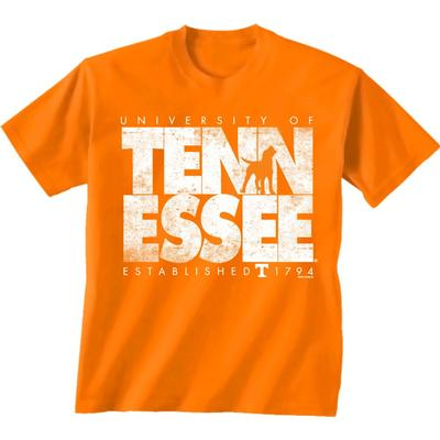 Tennessee University Established Date Short Sleeve Tee