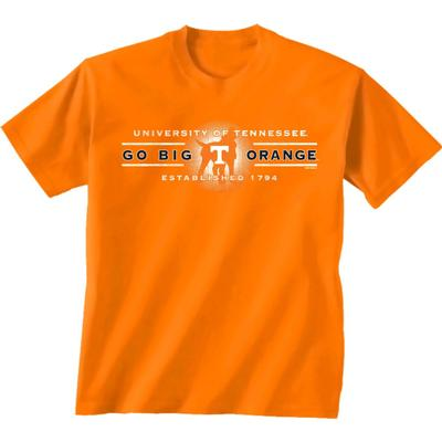 Tennessee War Cry with Logo Short Sleeve Tee