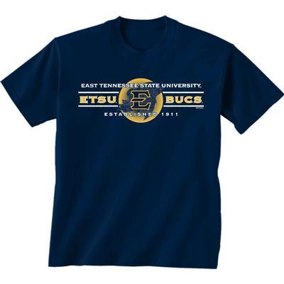 ETSU War Cry with Logo Short Sleeve Tee