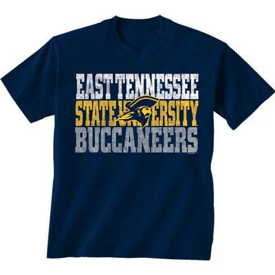 ETSU Buccaneer Logo Short Sleeve Tee