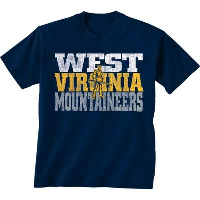 West Virginia Mountaineer Logo Short Sleeve Tee