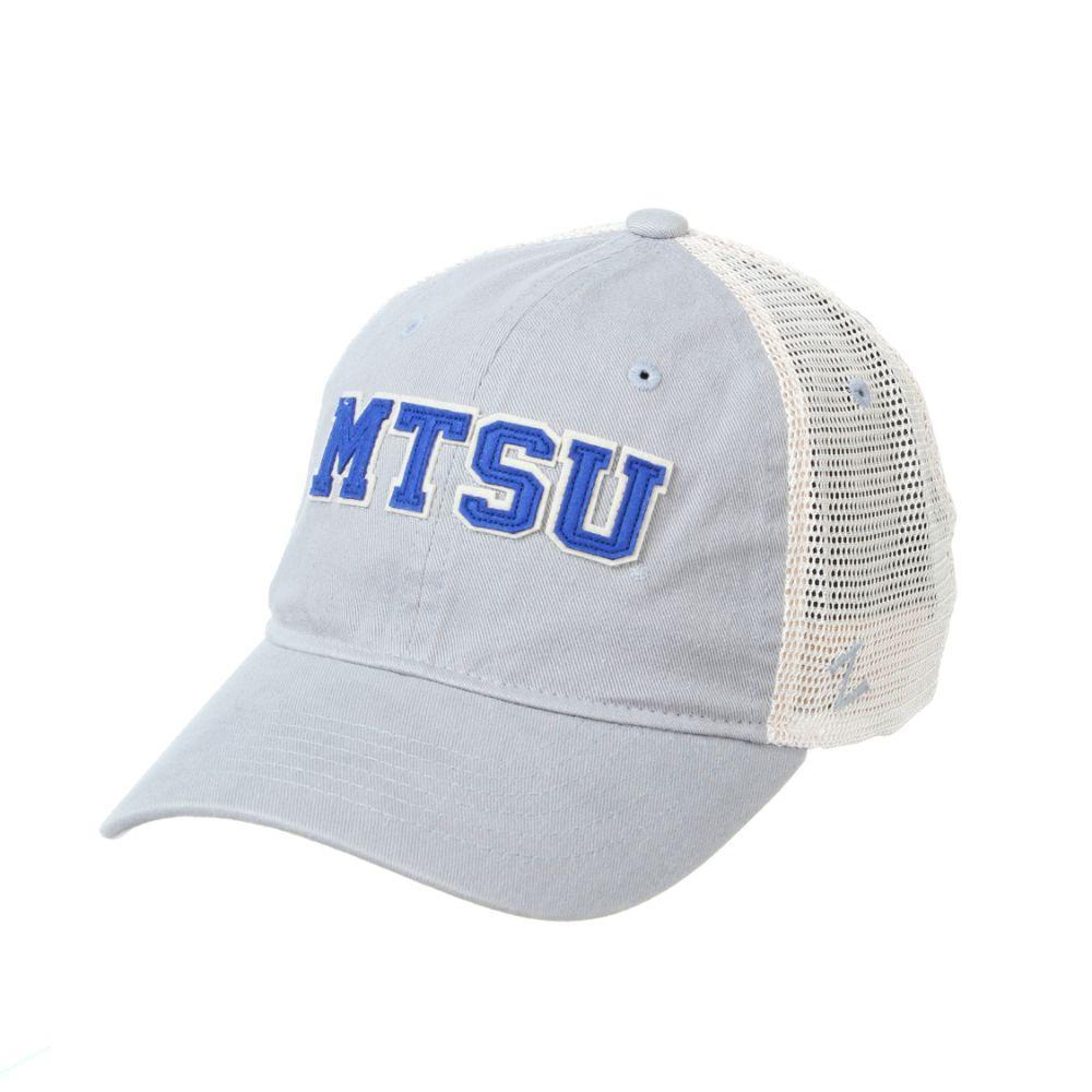 Mtsu Zephyr Adjustable Mesh Hat
