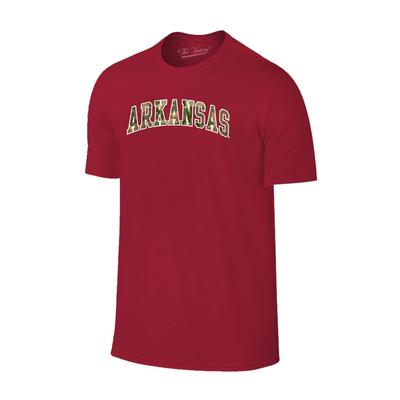 Arkansas Men's Camo Arch Tee
