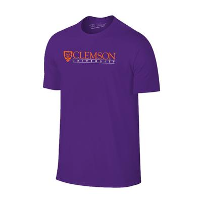 Clemson Men's Institutional Tee PURPLE