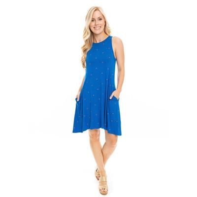 Florida Stewart Simmons Gator Dot Swing Dress