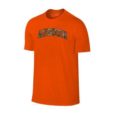 Auburn Men's Camo Arch Tee ORANGE