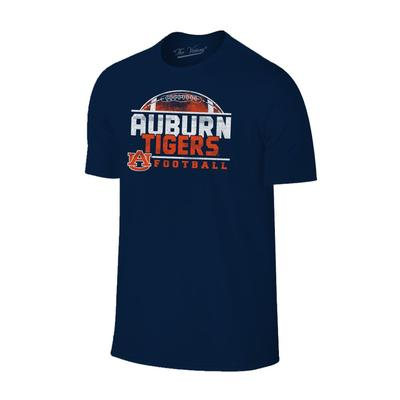 Auburn Men's Football Half Moon Distressed Tee