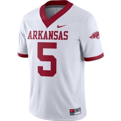 Arkansas Nike #5 Classic Alternate Game Jersey