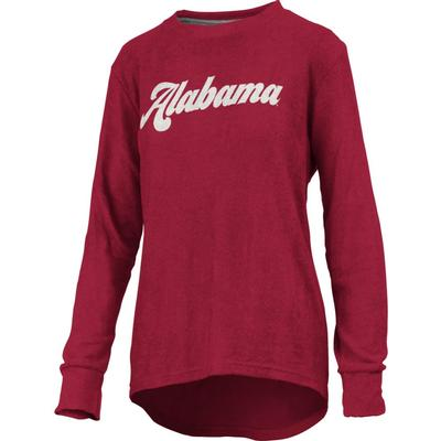 Alabama Pressbox Women's Morganton Cuddle Knit Crew