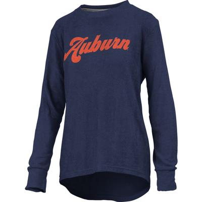 Auburn Pressbox Women's Morganton Cuddle Knit Crew