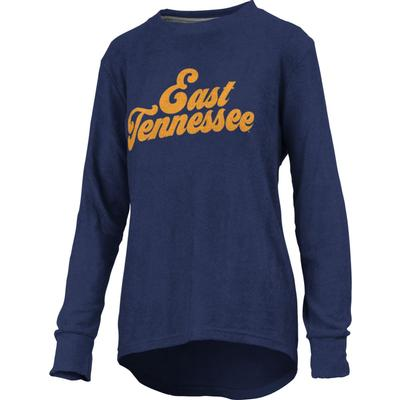 ETSU Pressbox Women's Morganton Cuddle Knit Crew