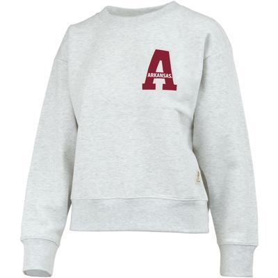 Arkansas Pressbox Women's Madi Homecoming Fleece Sweatshirt