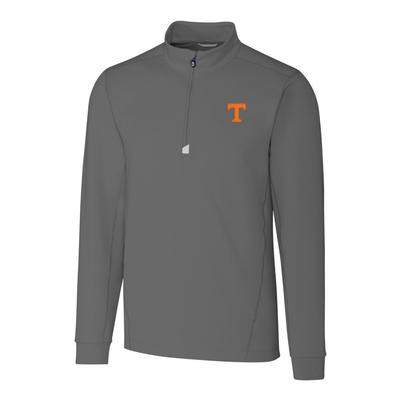 Tennessee Cutter & Buck Men's Big and Tall Traverse 1/2 Zip Pullover