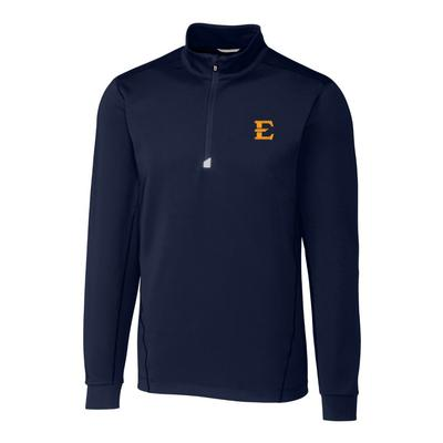 ETSU Cutter & Buck Men's Traverse 1/2 Zip Pullover