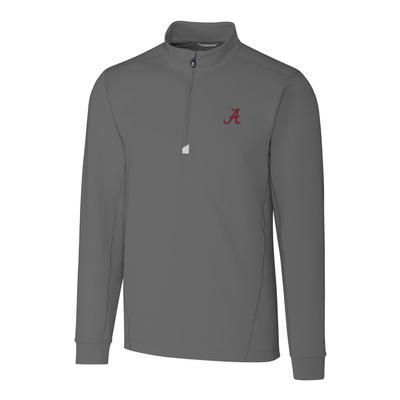 Alabama Cutter & Buck Men's Traverse 1/2 Zip Pullover