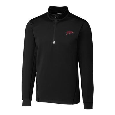 Arkansas Cutter & Buck Men's Traverse 1/2 Zip Pullover
