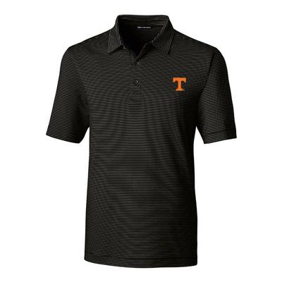 Tennessee Cutter & Buck Men's Big and Tall Forge Pencil Stripe Polo