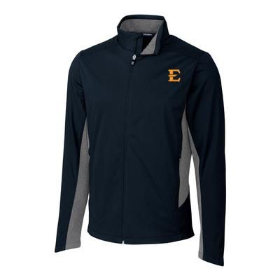 ETSU Cutter & Buck Men's Navigate Softshell Jacket