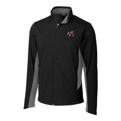 Georgia Cutter & Buck Men's Navigate Softshell Jacket
