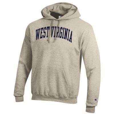 West Virginia Champion Men's Arch Screen Hoody