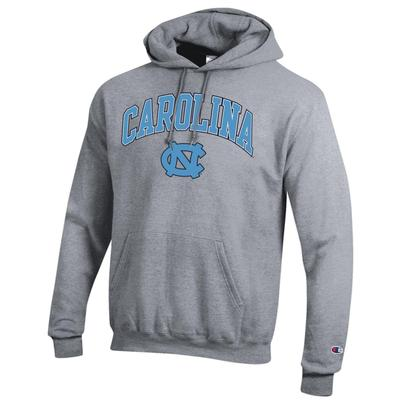 UNC Champion Men's Arch Screen Hoody