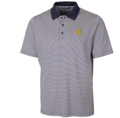 ETSU Cutter & Buck Men's Forge Tonal Stripe Polo