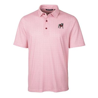 Georgia Cutter & Buck Men's Pike Double Dot Print Polo