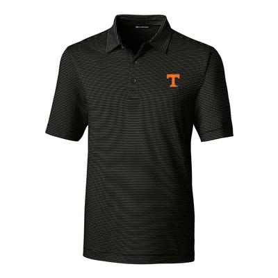 Tennessee Cutter & Buck Men's Forge Pencil Stripe Polo