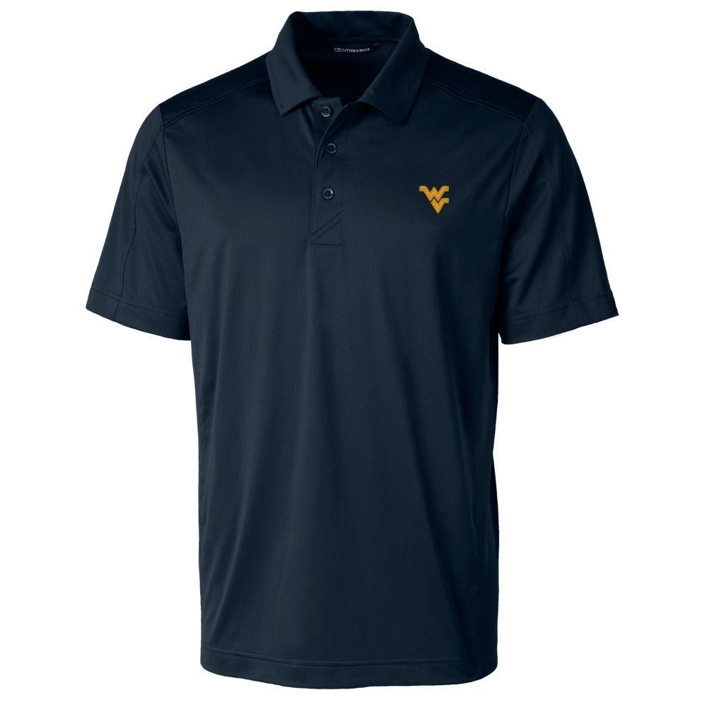 West Virginia Cutter & Buck Men's Prospect Polo