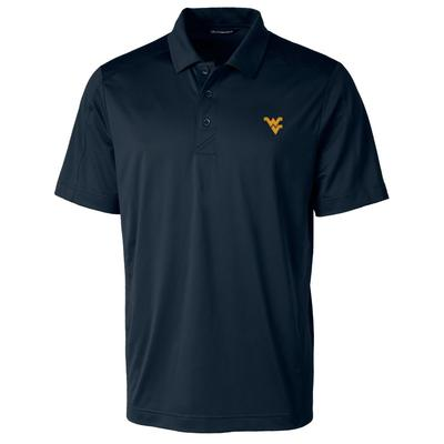 West Virginia Cutter & Buck Men's Prospect Polo