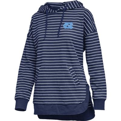 UNC Pressbox Women's Cara Striped Hoodie