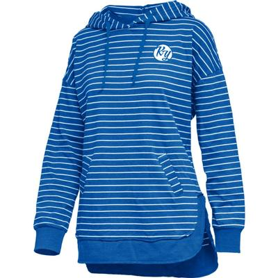 Kentucky Pressbox Women's Cara Striped Hoodie