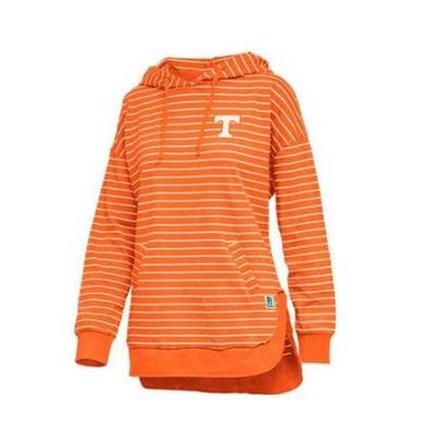 Tennessee Pressbox Women's Cara Striped Hoodie