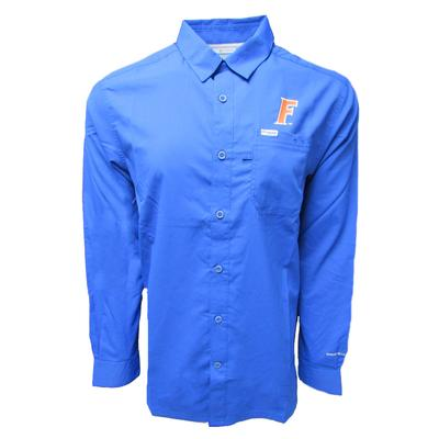 Florida Columbia PFG Slack Tide Long Sleeve Shirt