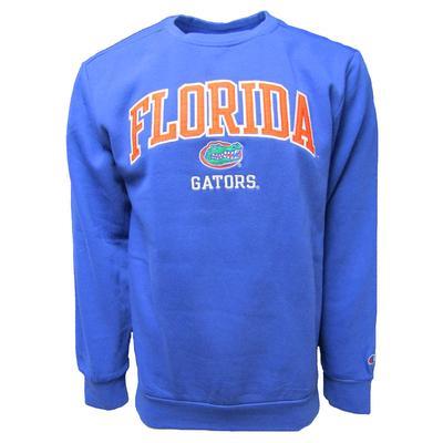 Florida Champion Applique Crew Fleece Sweat Shirt